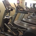2 ellipticals and 4 treadmills. Taken 9/17/14.