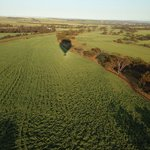 Our shadow over Avon valley
