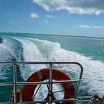 Boat Ride to Parrot Cay