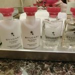 bvlgari shower gels and shampoos