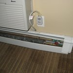 Radiator for heating, and the air-con