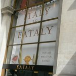 Eataly next to the hotel - what a place !