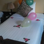 Bed at arrival :)