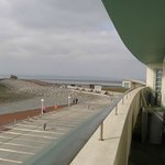 Room 104 balcony, view of the Stone Jetty