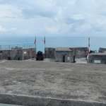 Ocean view from the top of Fort St. Catherine