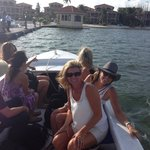 water taxi to resort