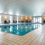 Come Relax in our indoor heated salt water pool