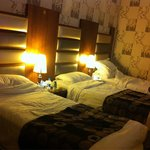 Our single beds, though extremely comfortable