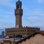The Palazzo Vecchio from the terrace