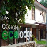 View of Ecolodge from the road