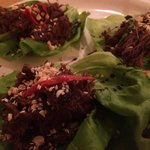 Bison Lettuce Wraps