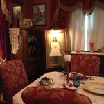 Dining Room, containing furniture from owners 100 years ago!