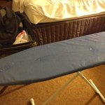 Original Ironing Board w/ Stains