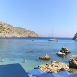 Anthony Quinn Bay - 5 minute taxi ride and absolutely stunningly beautiful!
