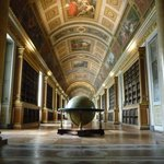 The library at the château de Fontainebleau