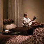 Relax & rejuvenate at the Spa at Beverly Wilshire in the Tranquility Lounge