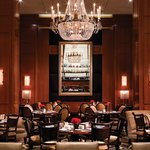 THE Blvd is a sophisticated, all-day dining spot with lofty ceilings and large windows