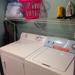 Laundry area in Room 208