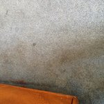Carpet had numerous stains