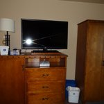 flat screen TV...western decor