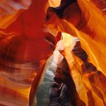 Antelope Canyon - shaft of light