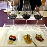 wine and food pairing at Mayo Reserve room