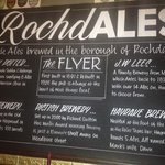 RochdALES,celebrating Rochdale's brewing heritage.