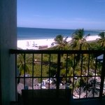 Another balcony view - clear day.  You can also hear the waves rush up on shore at night-relaxin