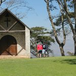 The charming little chapel on the 8th Fairway