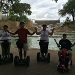 Fun on the Segways