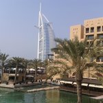 Burj Al Arab from the hotel grounds