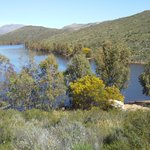 The dam 7km from Kings River Estate