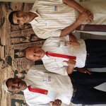 The 3 best restaurant staff at the Three corners fayrouz plaza resort.