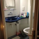 Tiny bathroom - Quad Room