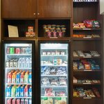 Panty with plenty of drinks, snacks, and healthy options
