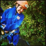 100m abseiling
