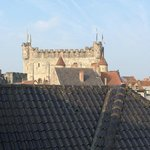 The view across the rooftops from our room