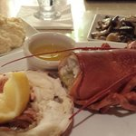 Every Sunday is $24 ala carte lobster are you kidding me they're delicious