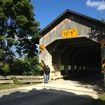 The park is a short drive from Ashtabula Covered Bridge Trail.