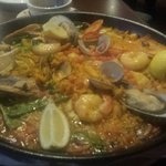 Half order of incredible Paella!! Detroit Style.