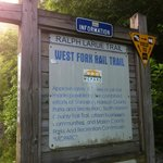 The rail trail need the B&B
