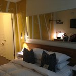 View of the bed (and room)