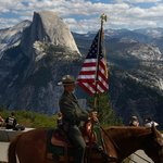 Yosemite Ranger by Half Dome September 2014