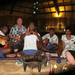 The fantastic staff at the Kava ceremony
