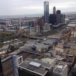 Stunning views of Melbourne city from level 46