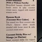 Coconut rice cake I had no idea what I was in for.  What a nice finish to a lovely meal.  Ask fo