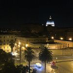 St Peter Bed in Rome Foto