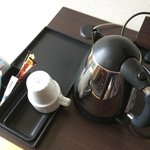 Water boiler and Nescafe