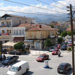 View from room 107 - Sparta main road