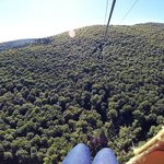 600ft in the air going 65mph!